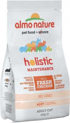 Pienso Almo Nature Holistic Pollo y arroz para gato