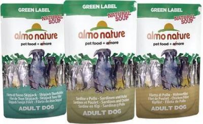 Paté  Almo Nature Green label para perro - Diferentes sabores