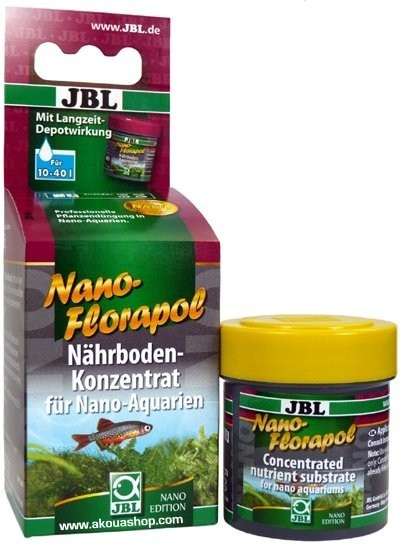 Nanoflorapol 15 ml substrat nutritif pour nano aquariums for Substrat pour aquarium