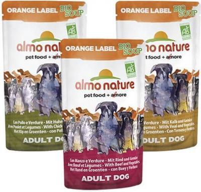 Paté Almo Nature Orange label para perro