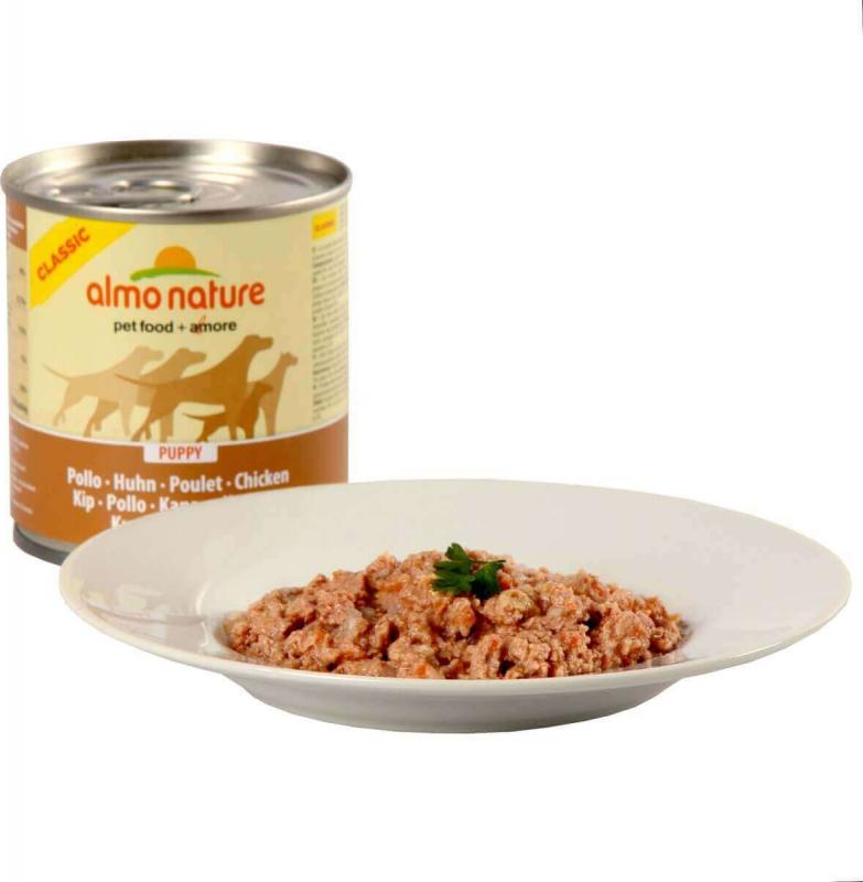 Pâtée ALMO NATURE HFC au Poulet pour chiot