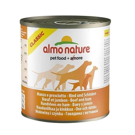 Paté Almo Nature Classic para perro - Varios sabores_0