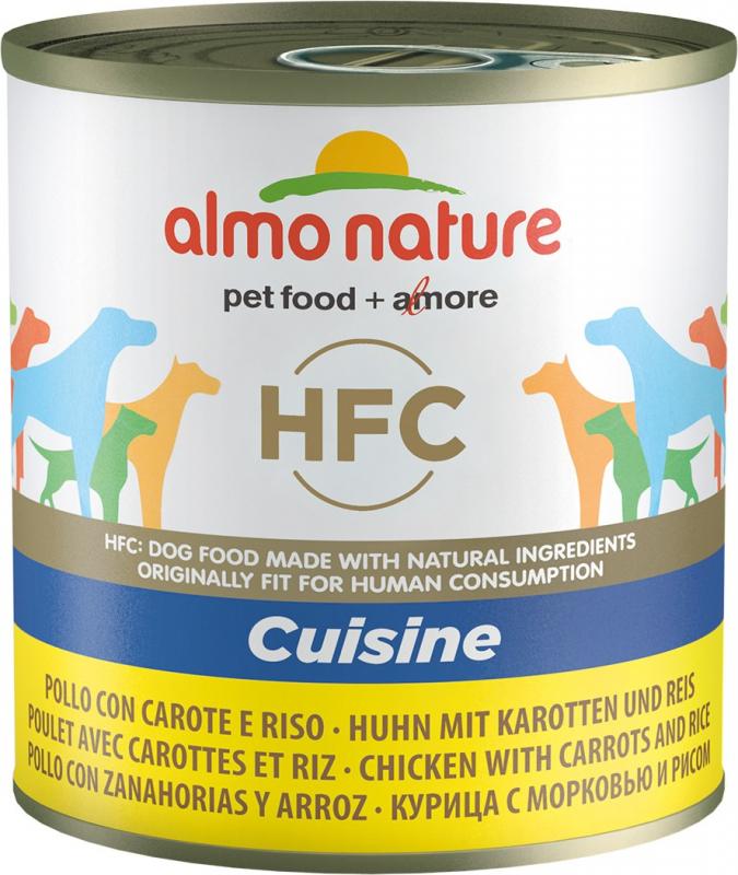 Pâtée ALMO NATURE HFC Classic 280 g pour chien adulte - 9 saveurs au choix