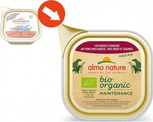 Pâtée ALMO NATURE Daily Menu BIO 100g pour chien adulte - 9 saveurs au choix