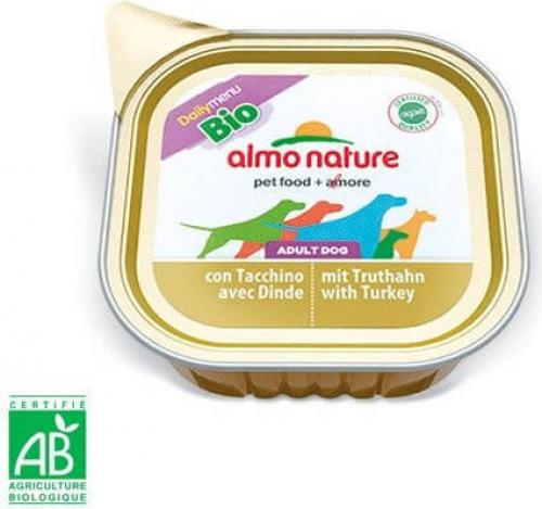 Paté Almo Nature Daily Menu Bio perro Adulto - Diferentes sabores_3