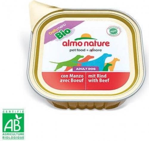 Paté Almo Nature Daily Menu Bio perro Adulto - Diferentes sabores_2