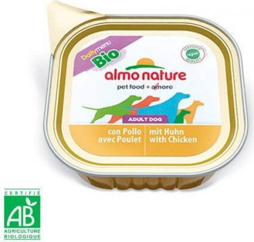 Paté Almo Nature Daily Menu Bio perro Adulto - Diferentes sabores_4