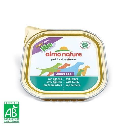 Paté Almo Nature Daily Menu Bio perro Adulto - Diferentes sabores