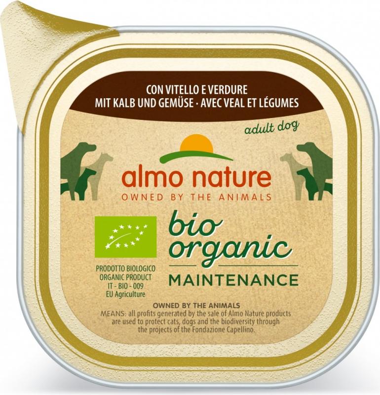 Paté Almo Nature Daily Menu Bio perro Adulto - 9 sabores diferentes