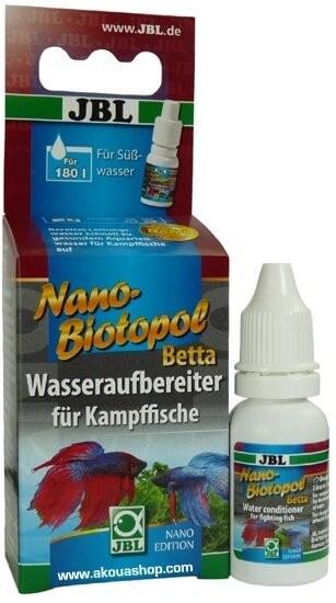Nanobiotopol betta 15ml wasseraufbereiter f r for Kampffische arten