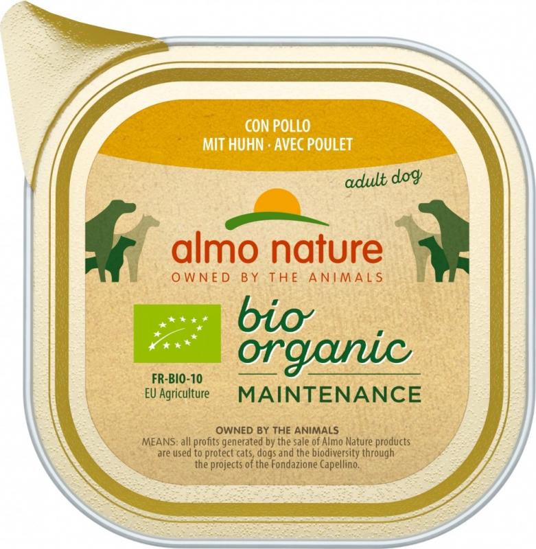 Paté Almo Nature Daily Menú Bio perro adulto - Diferentes sabores
