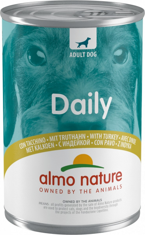 Pâtée ALMO NATURE Daily Menu pour chien adulte - 6 saveurs au choix