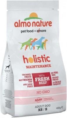 Trockenfutter Almo Nature Holistic Small Adult - für kleine ausgewachsenen Hunde