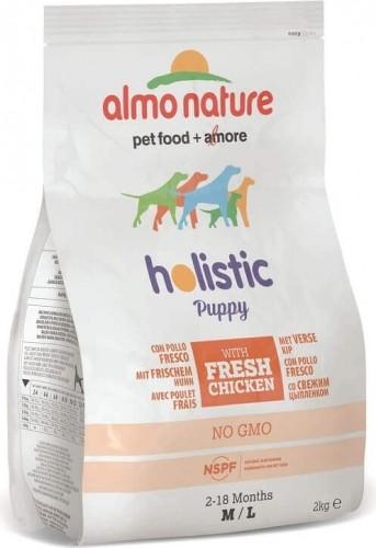 Trockenfutter Almo Nature Holistic Medium Puppy - Für Welpen mittelgroßer Hunderassen
