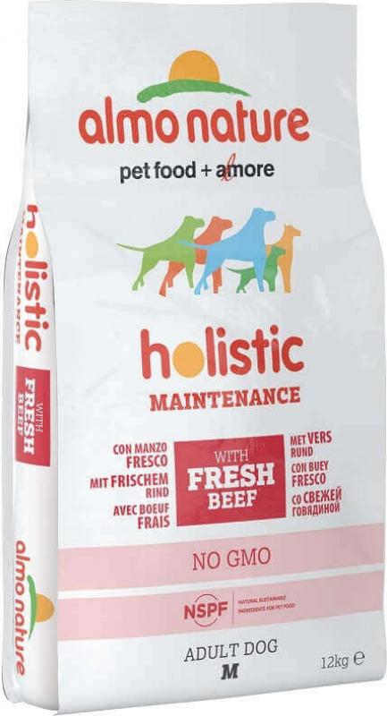 ALMO NATURE PFC Holistic Medium pour Chien Adulte de Taille Moyenne - 4 saveurs au choix