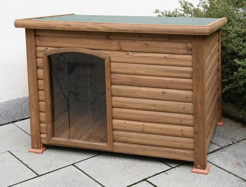 Niche pour chien avec terrasse Kerbl