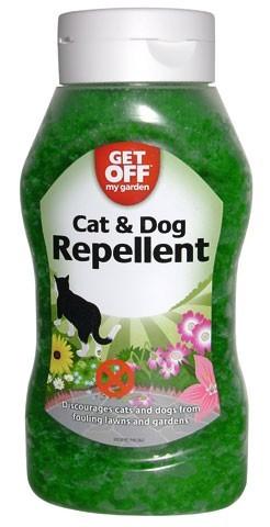Cristaux r pulsifs pour ext rieur chien chats get off my for Repulsif chien exterieur efficace