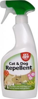 Spray repulsif Get off pour chien et chat