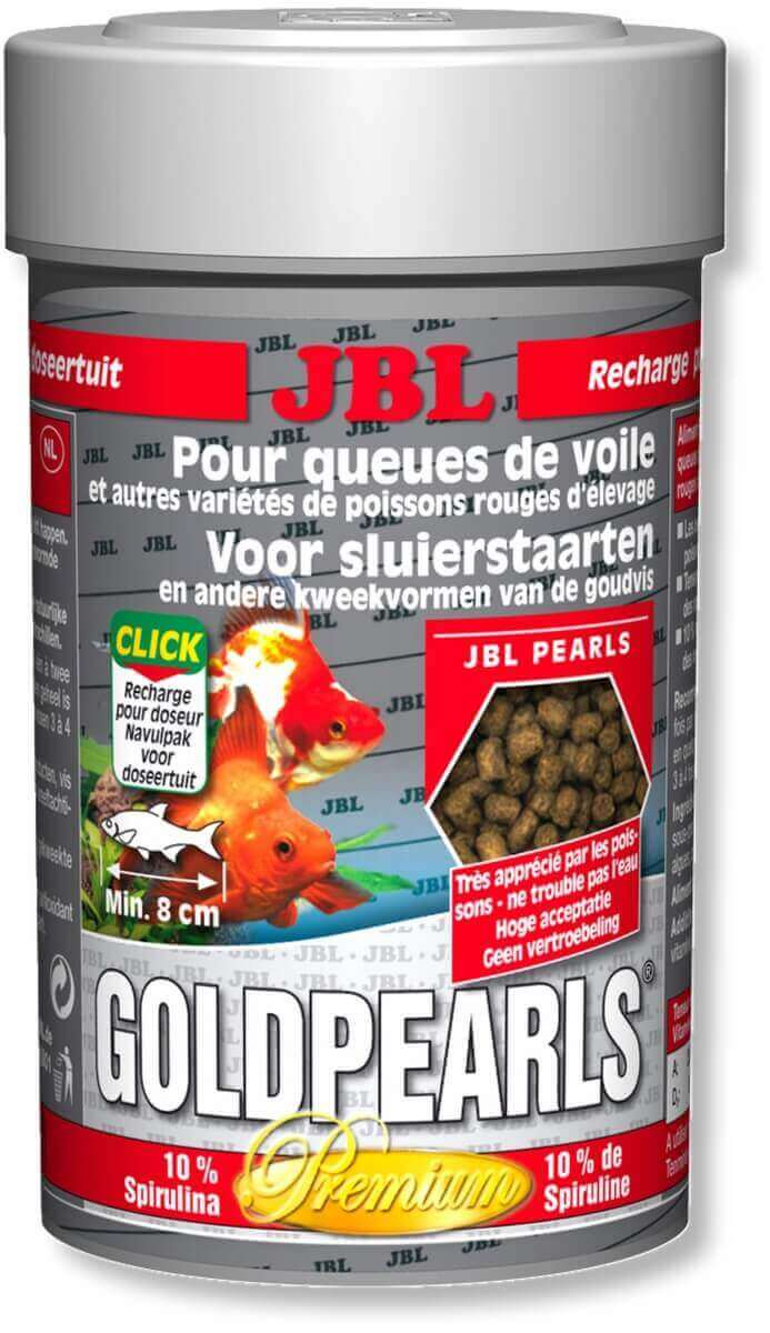 Goldpearls granul s premium pour poissons rouges et voiles for Nourrir des poissons rouges
