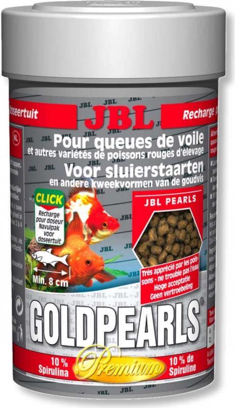 JBL GoldPearls granulés Premium pour poissons rouges et Voiles de Chine