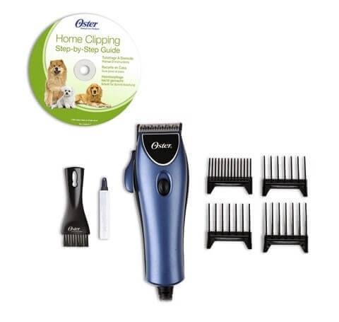 set máquina para cortar el pelo de perros oster o peines de
