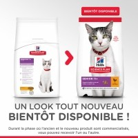 Hill's Feline Senior 11+ Poulet pour Chat