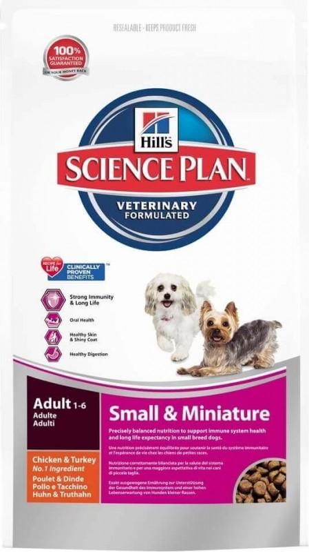 Hill's Canine Adult Small & Mini pour chien de petite taille au poulet