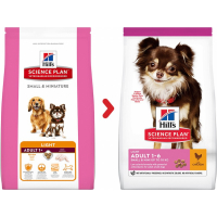 Hill's Canine small & miniature Light Petit chien adulte en surpoids - au Poulet