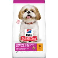 Hill's Science Plan Canine Mature Adult 7+ Small&Mini croquettes pour chien senior de petite taille au poulet