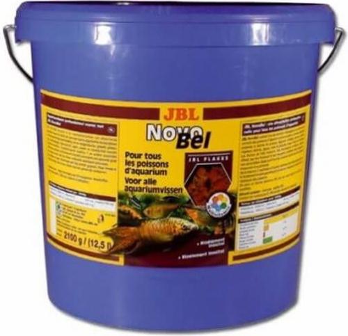 Novobel 12 5l paillettes pour poissons exotiques for Paillette poisson