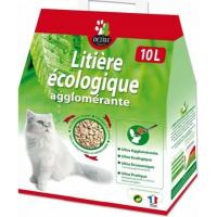 Klumpenbildendes Katzenstreu - 100% natürlich und ökologisch - Octave Nature