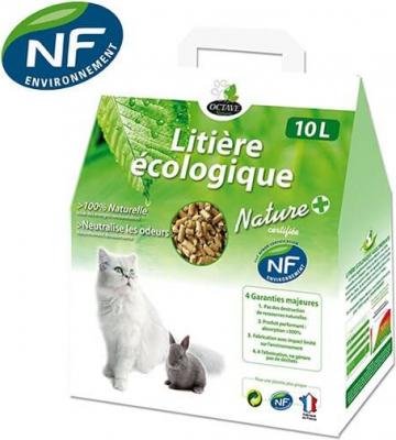 Litière Chat Rongeur Naturelle OCTAVE Certifiée NF