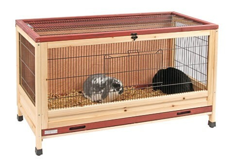 cage lapin int rieur 110 cm cage lapin. Black Bedroom Furniture Sets. Home Design Ideas