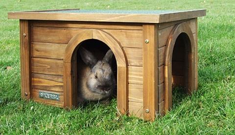 Abri pour rongeurs maison pour rongeur for Abri lapin exterieur