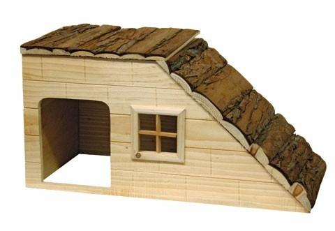 Maison pour rongeurs avec rampe_2
