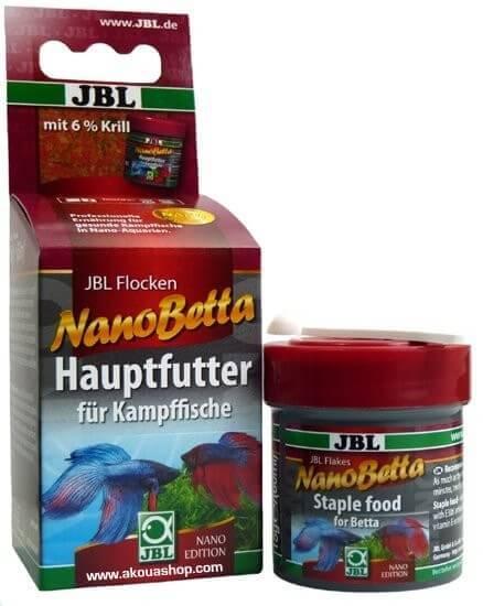 Nanobetta 60 ml flocons pour betta combattant nourriture for Nourriture combattant