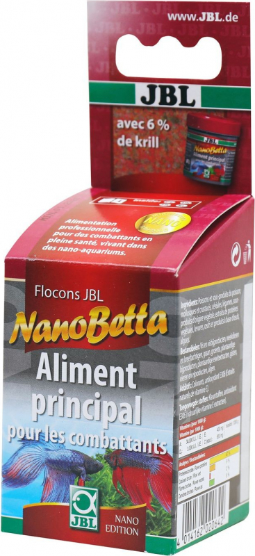 NanoBetta 60 ml flocons pour betta combattant