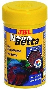 Jbl novobetta flocons pour betta combattant nourriture for Nourriture pour poisson combattant