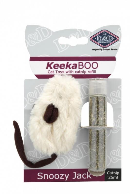 jouet souris avec herbe chat snoozy jack jouet pour chat. Black Bedroom Furniture Sets. Home Design Ideas