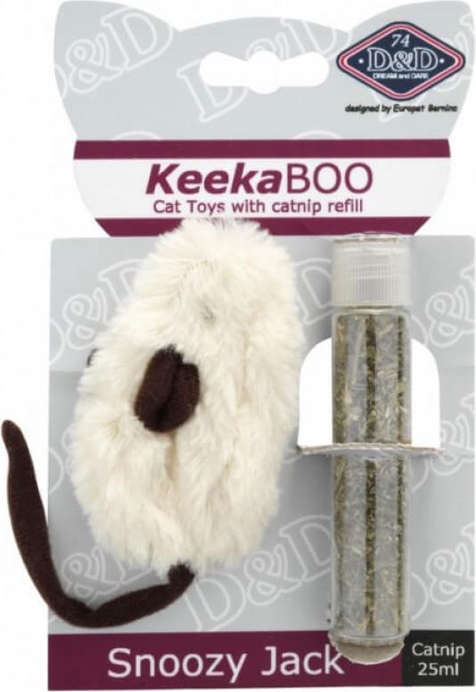 Topolino giocattolo per gatti con erba gatta - Snoozy Jack