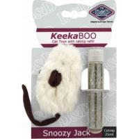 Jouet souris avec herbe à chat - Snoozy Jack