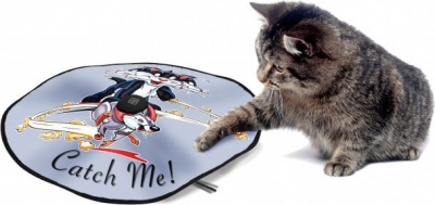 Alfombra de juego electrónica para gato