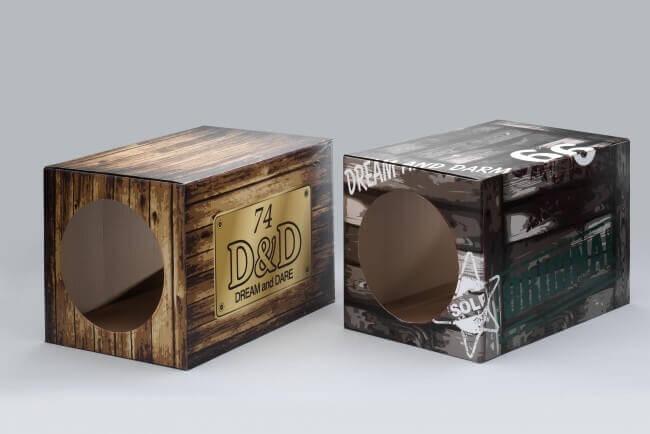Célèbre Boite en carton pour chat - Fun Box DREAM - Couchage chat SN09