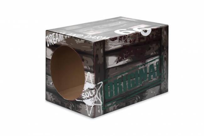 Préférence Boite en carton pour chat - Fun Box DREAM - Couchage chat BW48