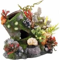 Décoration aquarium boîte de conserve
