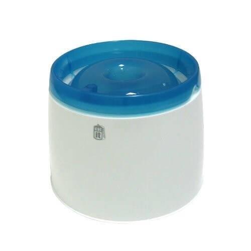 Fuente de agua Fresh-clear para gato y perro pequeño_1