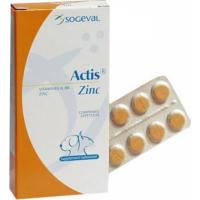 Actis Zinc Supplément nutritionnel pour le pelage du chien et du chat