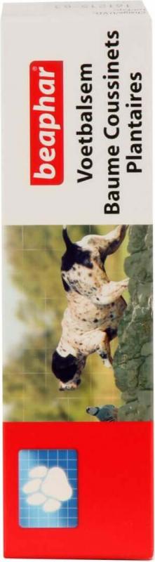 Baume pour coussinets plantaires pour chien et chat