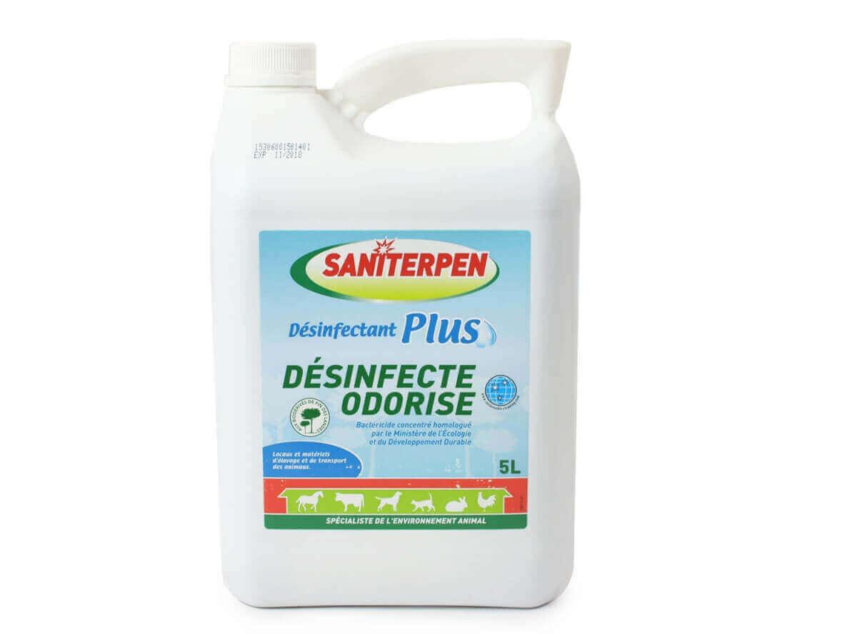 Saniterpen - Désinfectant Plus - 1 et 5 L._1