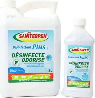 Saniterpen - Désinfectant Plus - 1 et 5 L.